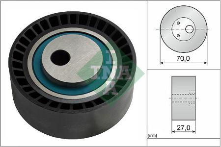 INA 531014810 Натяжной ролик, поликлиновой  ремень Купить недорого