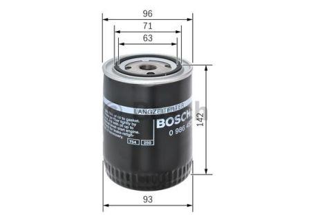 0986452400 BOSCH Масляный фильтр на AUDI