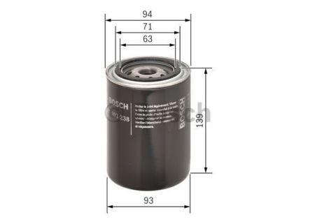 0451103238 BOSCH Масляный фильтр на CITROEN