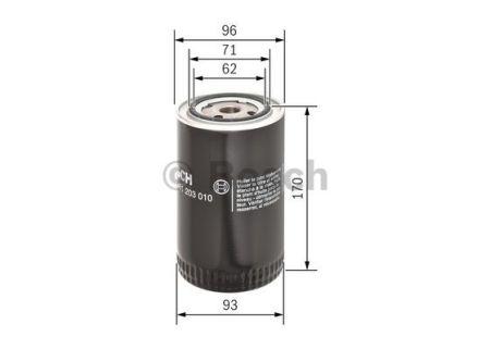 0451203010 BOSCH Масляный фильтр на VOLVO