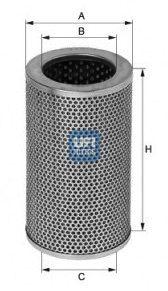 2540601 UFI Масляный фильтр на SCANIA