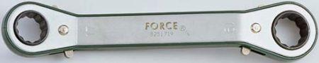 FORCE FOR8251213 Ключ накидной с трещоткой 12х13 угол. 15 град. купить недорого