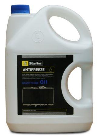 STARLINE SANTIFREEZE40C4 Антифриз / G11 / готовый к применению / -40°С / синий / 4л. Купить недорого