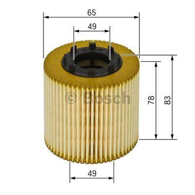 1457429256 BOSCH Масляный фильтр для OPEL ASTRA