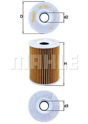 OX3553D KNECHT Масляный фильтр для CHEVROLET LACETTI