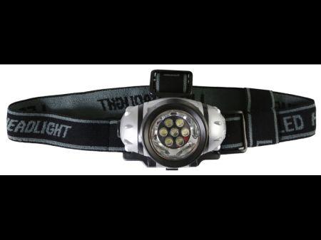 CARFACE DOCFAT14001 Фонарь налобный, 7 х LED Купить недорого