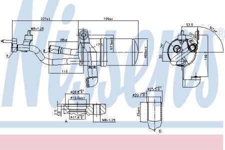 NISSENS NIS95449 Осушитель FD FOCUS C-MAX(03-)1.6 TDCi(+)[OE 1310196] купить недорого
