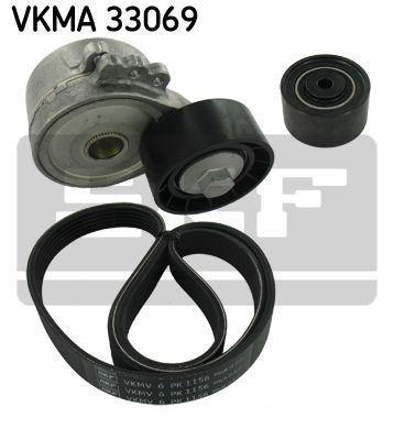 SKF VKMA33069 Поликлиновой ременный комплект купить недорого