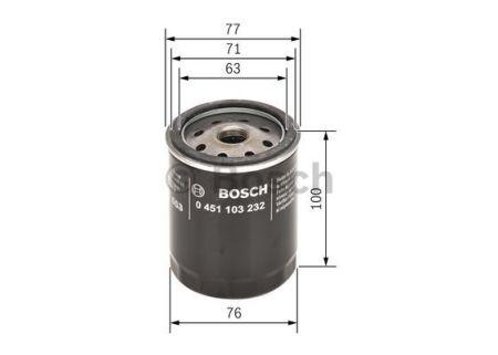 0451103232 BOSCH Масляный фильтр на ROVER
