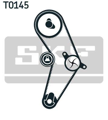 SKF VKMC02203 Водяной насос + комплект зубчатого ремня заказать по низкой цене