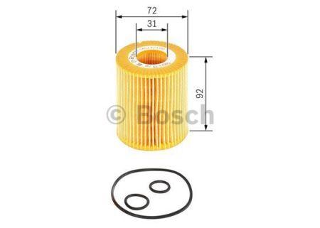 1457429199 BOSCH Масляный фильтр для HONDA CIVIC
