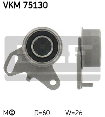 SKF VKM75130 Натяжной ролик, ремень ГРМ купить недорого