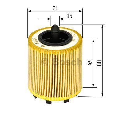 1457429192 BOSCH Масляный фильтр для VW POLO