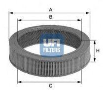 UFI 2778500 Воздушный фильтр Купить недорого