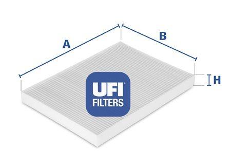 UFI 5300600 Фильтр, воздух во внутренном пространстве Купить недорого
