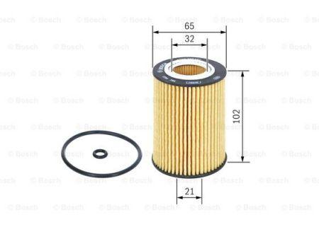 F026407157 BOSCH Масляный фильтр для SKODA SCALA