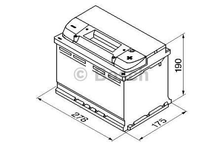 BOSCH 0092S40080 Аккумулятор Bosch S4 Silver 74Ah, EN 680 правый