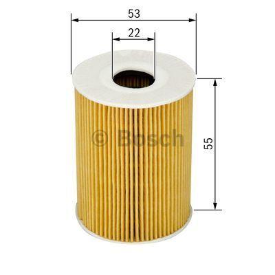 1457429127 BOSCH Масляный фильтр на SMART