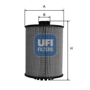 2508900 UFI Масляный фильтр для VW ATLAS