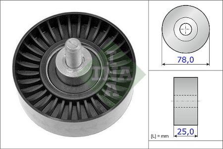 INA 532070510 Паразитный / ведущий ролик, поликлиновой ремень купить недорого