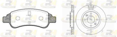 ROADHOUSE RH884002 Комплект тормозной (RH 2840.30 - 1 шт + RH 6603.10 - 2 шт) Купить недорого