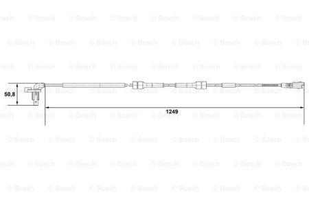 BOSCH 0265007666 Датчик, частота вращения колеса заказать по низкой цене