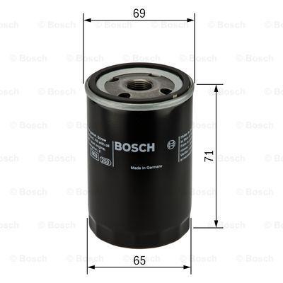 F026407001 BOSCH Масляный фильтр на INFINITI