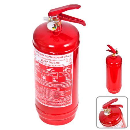 ELIT UNIOP2 Огнетушитель порошковый с манометром 2кг заказать по низкой цене