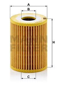 MFHU7193X MANN Масляный фильтр для CHEVROLET LACETTI