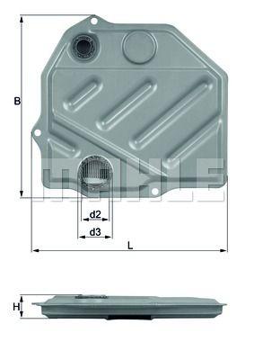 KNECHT HX46 Гидрофильтр, автоматическая коробка передач купить недорого