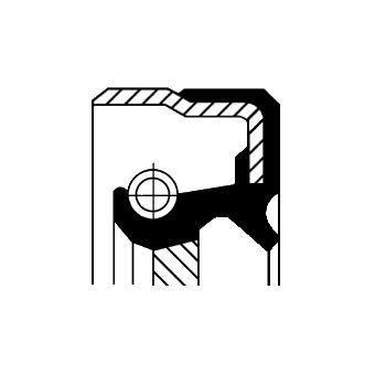 CORTECO COS01031902 Уплотняющее кольцо, ступенчатая коробка передач; Уплотняющее кольцо вала, АКПП Купить недорого