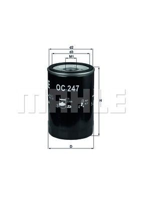 OC247 KNECHT Масляный фильтр на LDV