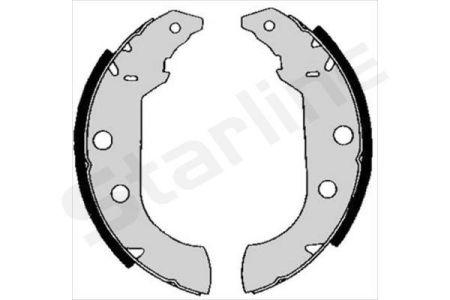 STARLINE SBC04980 Тормозные колодки барабанные, к-кт. заказать по низкой цене