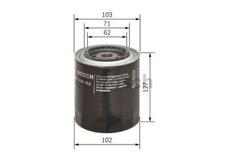 0451203152 BOSCH Масляный фильтр на FIAT