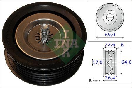 INA 532067110 Паразитный / ведущий ролик, поликлиновой ремень Купить недорого