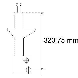 170129 SACHS Амортизатор подвески для VW PASSAT
