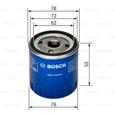0451103336 BOSCH Масляный фильтр на MITSUBISHI