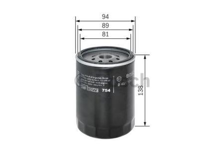 0451104064 BOSCH Масляный фильтр на CHEVROLET