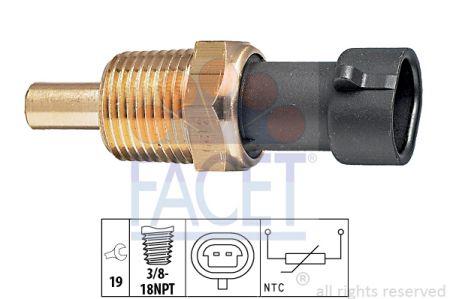 FACET FA73129 Датчик температуры охлаждающей жидкости купить недорого