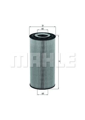 OX1231D KNECHT Масляный фильтр на SSANGYONG
