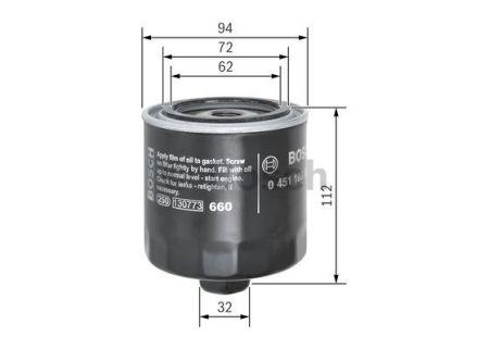 0451103084 BOSCH Масляный фильтр на VW