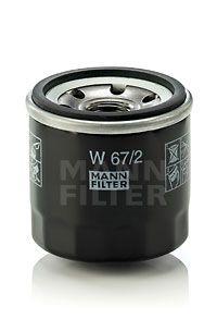 W672 MANN Масляный фильтр на CHERY