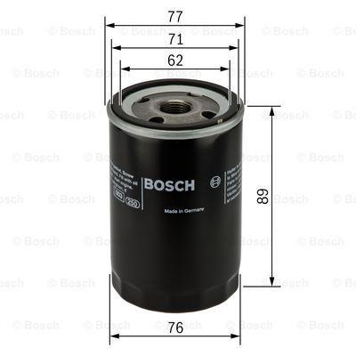 0451103079 BOSCH Масляный фильтр на NISSAN