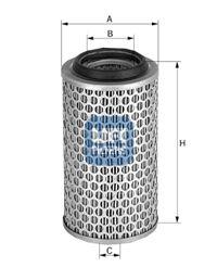 UFI 2756200 Воздушный фильтр Купить недорого