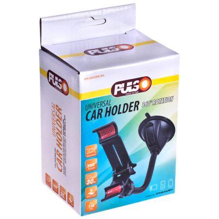 ELIT UNIUH2055BKRD Держатель мобильного телефона PULSO UH-2055BK/RD (до 110мм) на гибкой ножке заказать по низкой цене