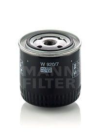 W9207 MANN Масляный фильтр на SCANIA