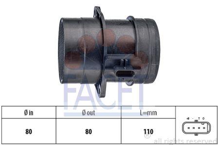 FACET FA101446 Расходомер воздуха Купить недорого