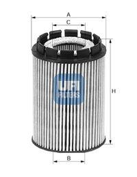 2501000 UFI Масляный фильтр для AUDI Q7