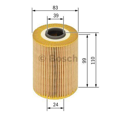 1457429142 BOSCH Масляный фильтр для VW PASSAT