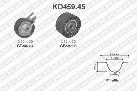 SNR SNRKD45945 Комплект ремня ГРМ Купить недорого